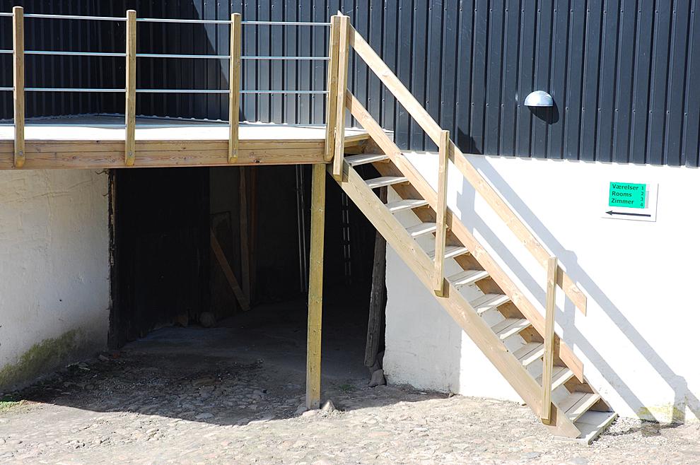 Trappe til svalegang | Bygaden 9